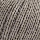 B C Garn Selba 50% ekologisk ull och 50% ekologisk bomull grå nr 02