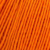 B C Garn Selba 50% ekologisk ull och 50% ekologisk bomull nr 09 orange
