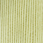 B C Garn Alba 100% ekologisk bomull ljus pastellgul nr 07