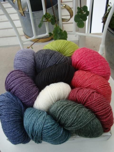 Onion no 6 Organic Wool + Nettles / Ekologisk Ull och Nässlor