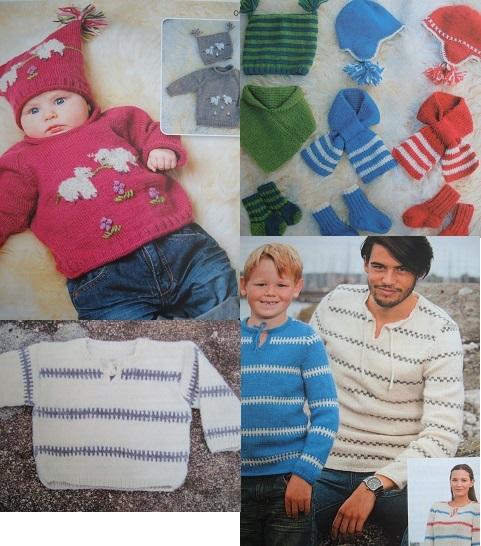 mönster till Marks & Kattens ECO-babyull