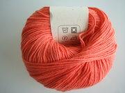 B C Garn Alba 100% ekologisk bomull peach nr 06