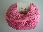 B C Garn Alba 100% ekologisk bomull rosa nr 04