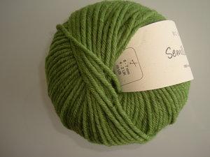 B C Garn Semilla grosso nr 133 100% ekologisk ull grön
