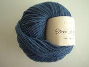B C Garn Semilla grosso nr 114 100% ekologisk ull mörkblå