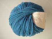 B C Garn Semilla grosso nr 121 100% ekologisk ull petrol-blå