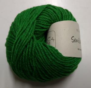 B C Garn Semilla grosso nr 135 100% ekologisk ull klargrön