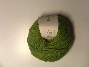 B C Garn Semilla grosso nr 112 100% ekologisk ull gräsgrön