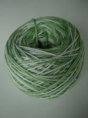 eko-bomull gröna nyanser och vit nr 3