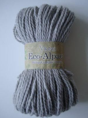 Viking eco-Alpaca ljusgrå 413