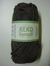 Järbo garn 100% återvunnen bomull nougatbrun nr 111