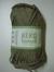 Järbo garn 100% återvunnen bomull mandelbeige nr 60