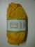 Järbo garn 100% återvunnen bomull solgul nr 31
