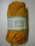 Järbo garn 100% återvunnen bomull bärnstensgul nr 80