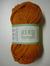 Järbo garn 100% återvunnen bomull kopparorange nr 302