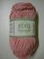 Järbo garn 100% återvunnen bomull babyrosa nr 62