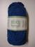 Järbo garn 100% återvunnen bomull blåklintsblå nr 301