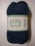 Järbo garn 100% återvunnen bomull mörk jeansblå nr 323