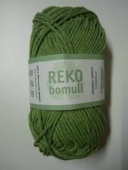 Järbo garn 100% återvunnen bomull pampasgrön nr 28