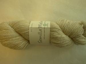 B C Garn Semilla Melange nr 01 100% ekologisk ull natur