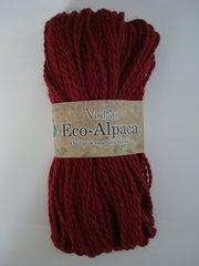 Viking eco-Alpaca mörk tegelröd 454