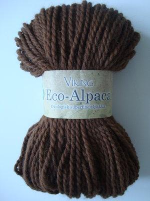 Viking eco-Alpaca mörkbrun 409