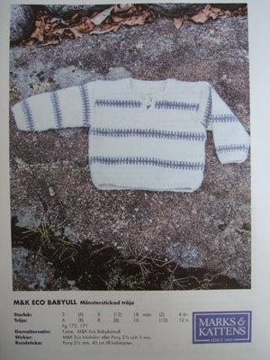 mönster Marks & Kattens nr 15021