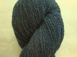 B C Garn Bio Shetland nr 20 100% ekologisk ull mörkblå