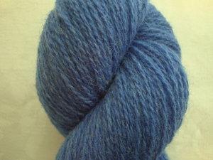 B C Garn Bio Shetland nr 18 100% ekologisk ull klarblå