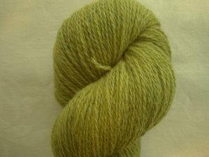 B C Garn Bio Shetland nr 10 100% ekologisk ull ljusgrön