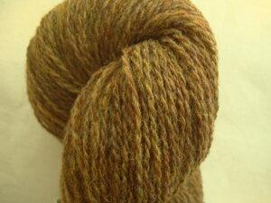 B C Garn Bio Shetland nr 05 100% ekologisk ull brun