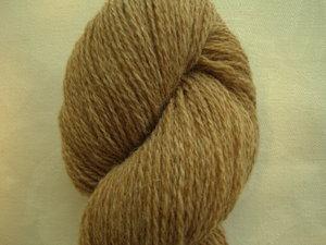 B C Garn Bio Shetland nr 04 100% ekologisk ull ljusbrun/beige