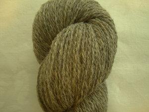 B C Garn Bio Shetland nr 03 100% ekologisk ull gråbrun