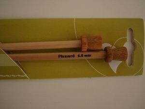 Stickor bambu nr 6 långa