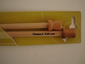 Stickor bambu nr 8 långa