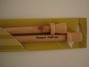 Stickor bambu nr 10 långa