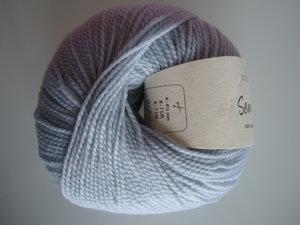 B C Garn Semilla nr 130 100% ekologisk ull ljusblå