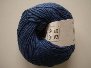 B C Garn Alba 100% ekologisk bomull marinblå nr 23