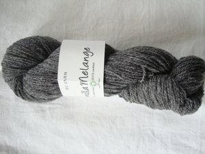 B C Garn Semilla Melange nr 03 100% ekologisk ull grå